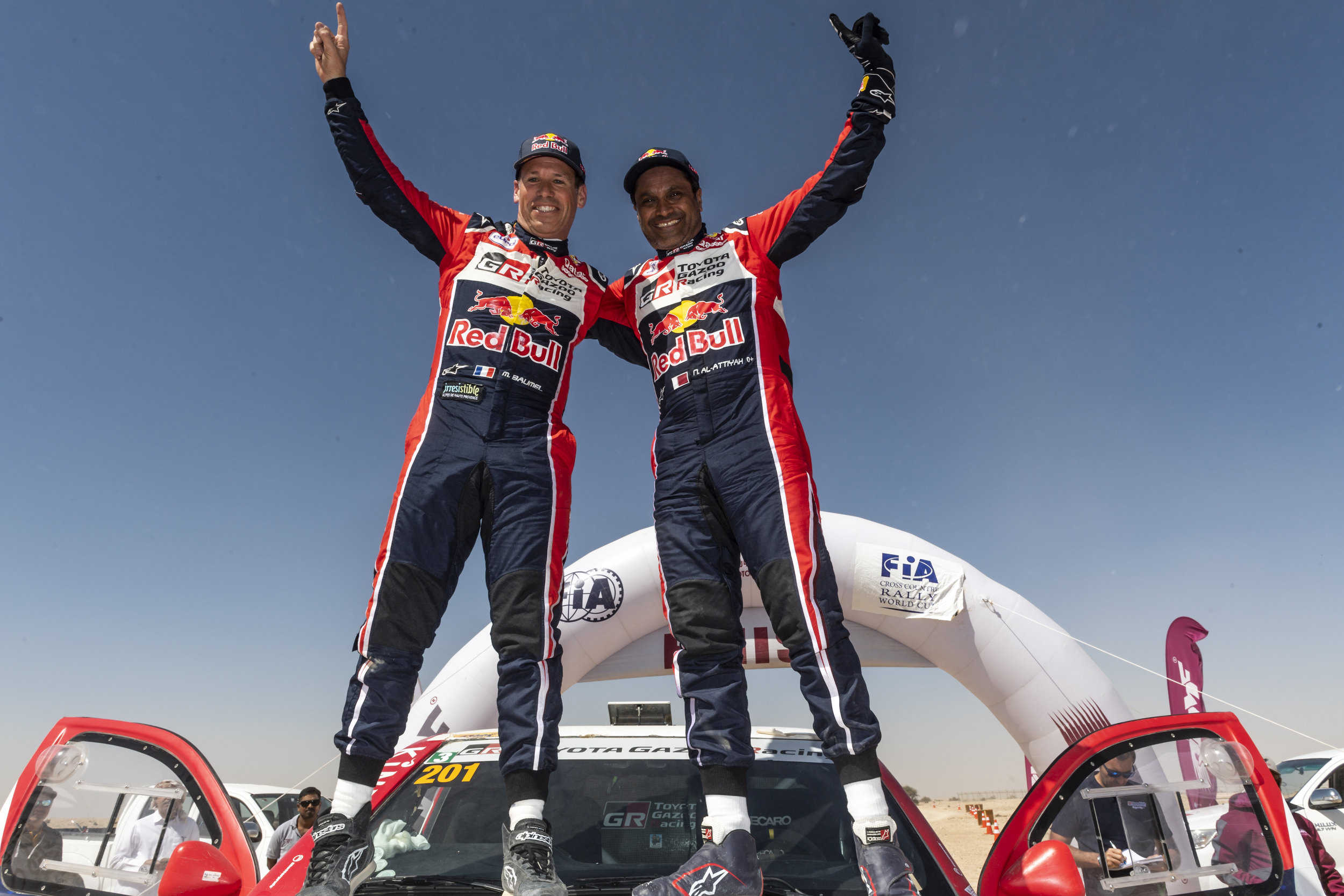 Victory for Nasser and Matthieu